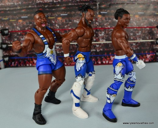 WWE Elite New Day figure review - New Day right side