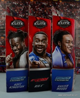 WWE Elite New Day figure review - package side