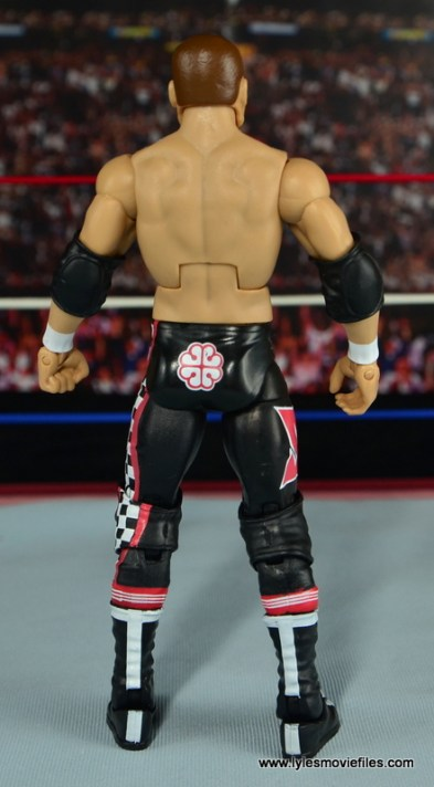 WWE Elite Sami Zayn figure review - rear