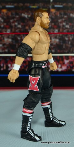 WWE Elite Sami Zayn figure review - right side