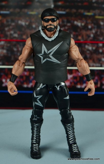 WWE Elite Then Now Forever Macho Man Randy Savage figure review - straight