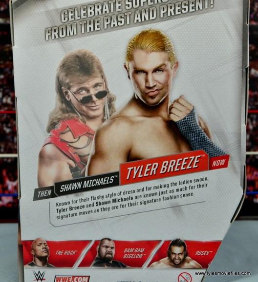 WWE Elite Tyler Breeze figure review - bio