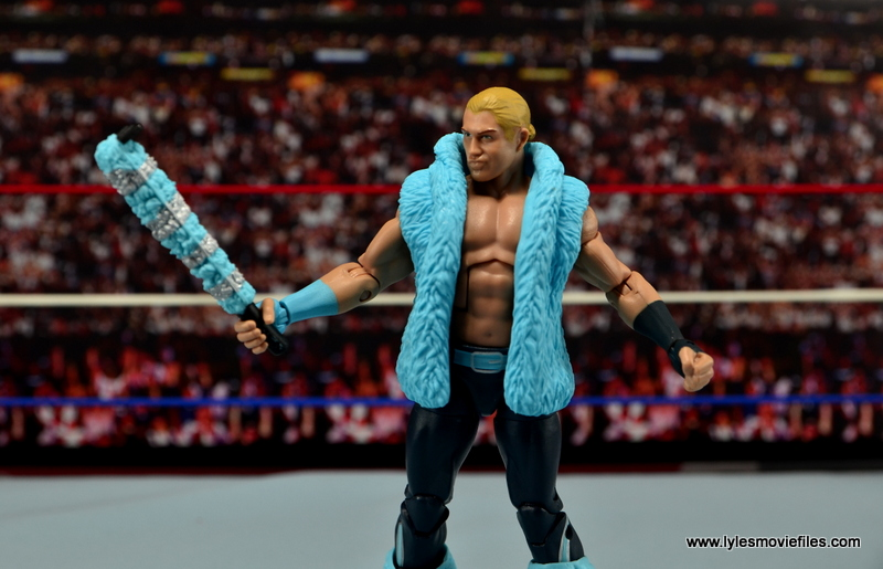 WWE Elite Tyler Breeze figure review - checking out selfie stick