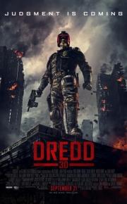 dredd movie poster