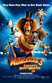 madagascar_three movie poster