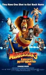madagascar_three movie poster
