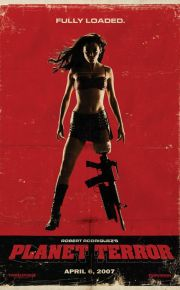 planet terror grind house movie poster