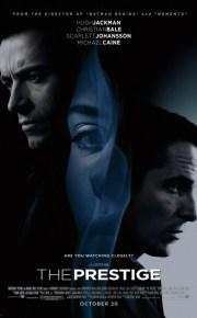 prestige movie poster