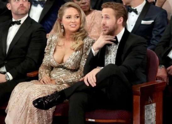 2017 Oscars - Ryan Gosling and sister