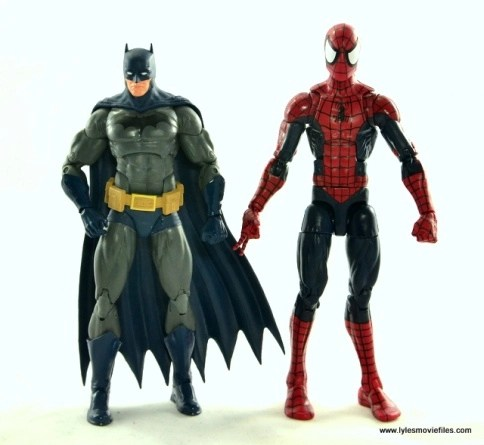 DC Icons Batman and Marvel Legends Spider-Man