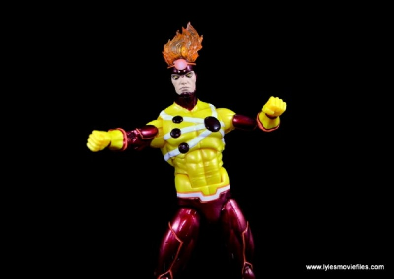 DC Icons Firestorm figure review - arms out