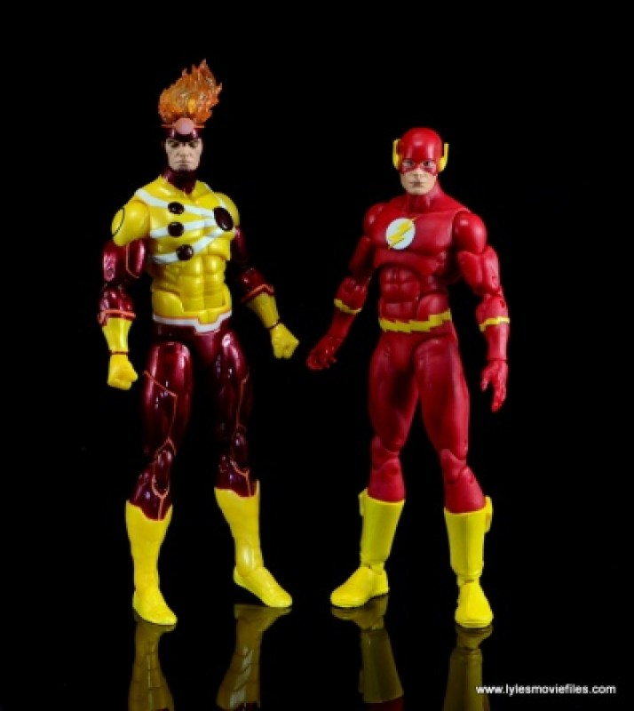 DC Icons Firestorm figure review - with The Flash