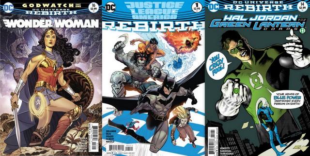 DC Comics 2/8/17