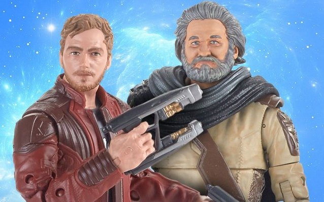 Guardians of the Galaxy vol. 2 - Star-Lord and Ego and Star-Lord