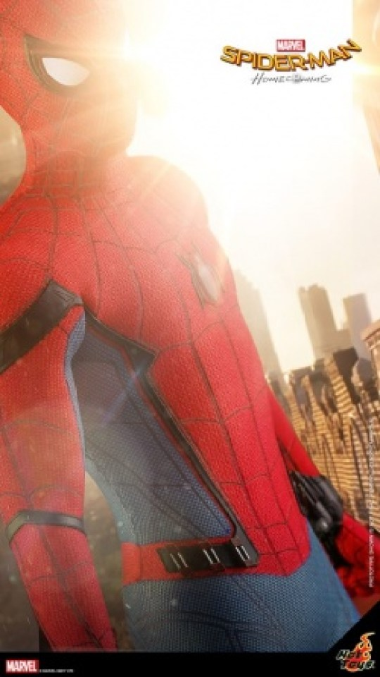 Hot Toys Spider-Man Homecoming figure