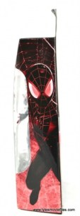 Marvel Legends Miles Morales figure review - package side