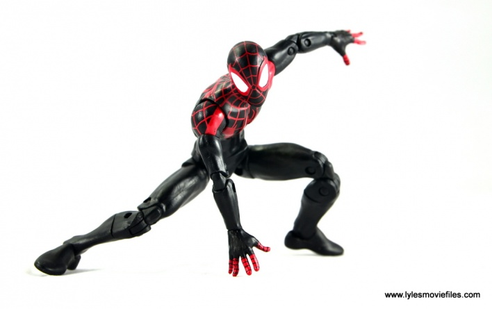 Marvel Legends Miles Morales figure review - ready for battle