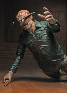 NECA Ultimate Jason figure - machete in head