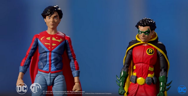Super Sons DC Icons - Jon Kent and Damian Wayne header image