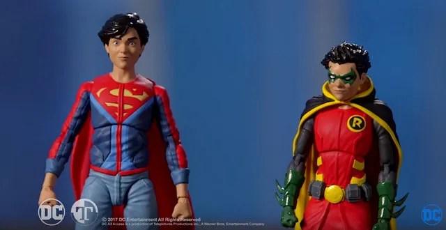 Super Sons DC Icons - Jon Kent and Damian Wayne header image
