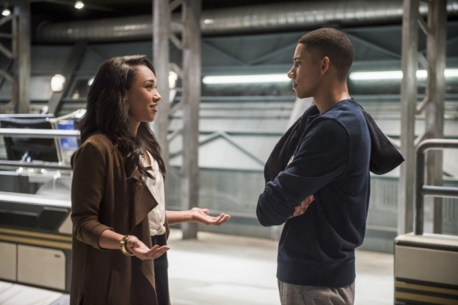 The Flash Dead or Alive - Iris and Wally