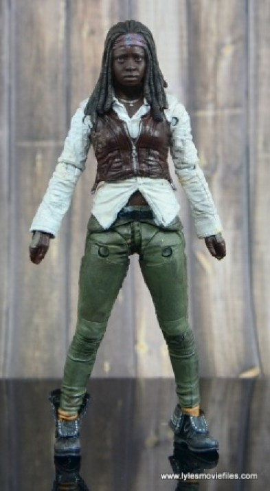 The Walking Dead Michonne figure review - straight