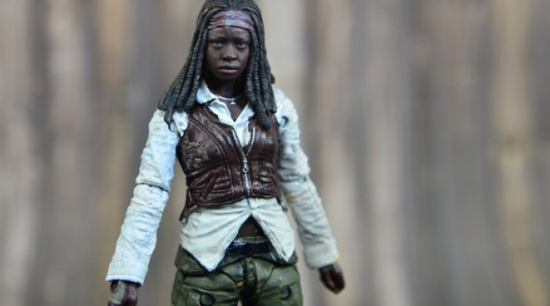 The Walking Dead Michonne figure review - wide