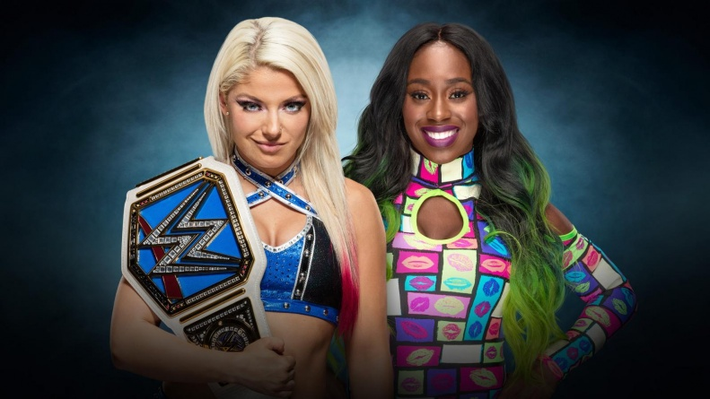 WWE Elimination Chamber 2017 - Alexa Bliss vs Naomi
