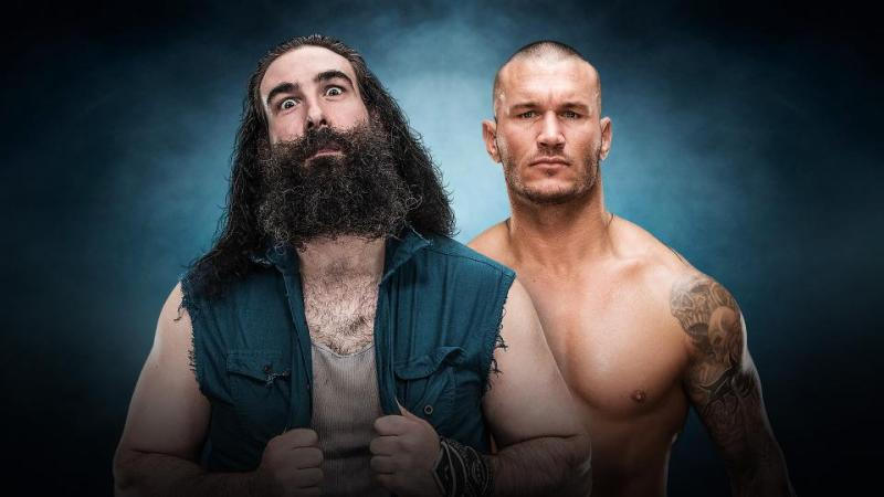 WWE Elimination Chamber 2017 - Luke Harper vs Randy Orton