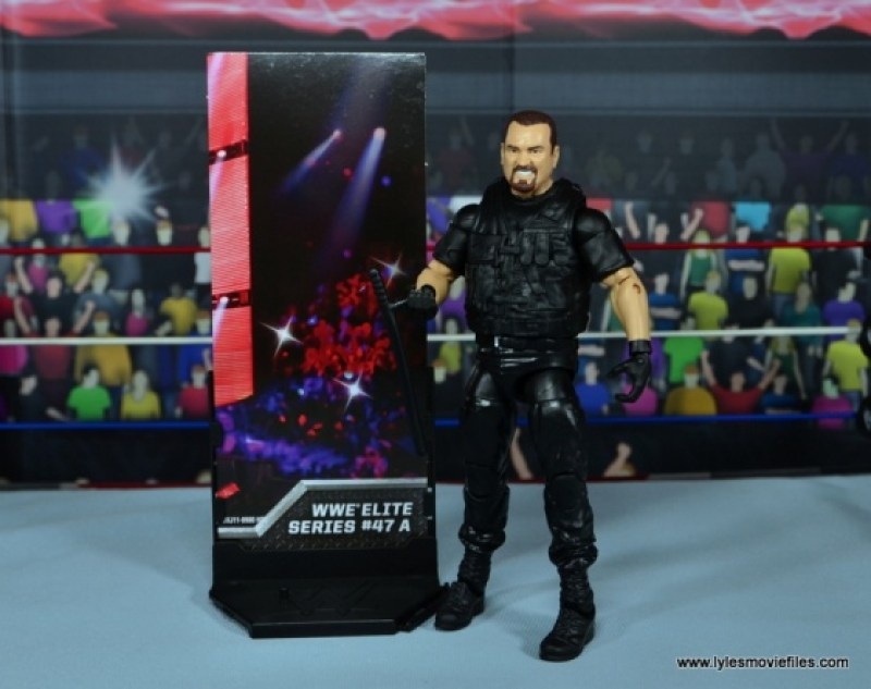 WWE Elite Big Boss Man figure review - with build a diorama