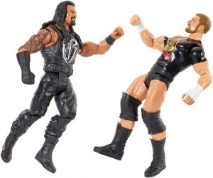 WWE Tough Talkers 2 - Roman Reigns and Triple H fighting