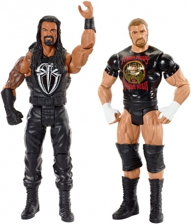 WWE Tough Talkers 2 - Roman Reigns and Triple H posing