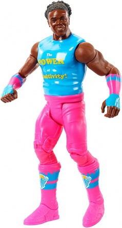 WWE Tough Talkers 2 - Xavier Woods posing