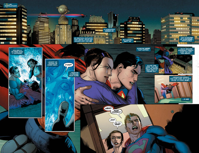 Action Comics #975 interior art