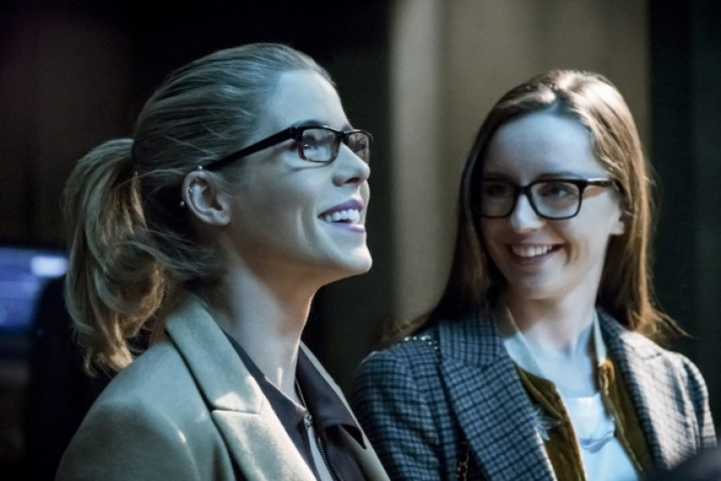 Arrow Checkmate review - Felicity and Alena