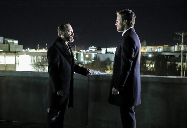 Arrow Disbanded review - Anatoly and Oliver
