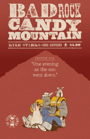 Badrock Candy Mountain Image Comics April Fools variant cover