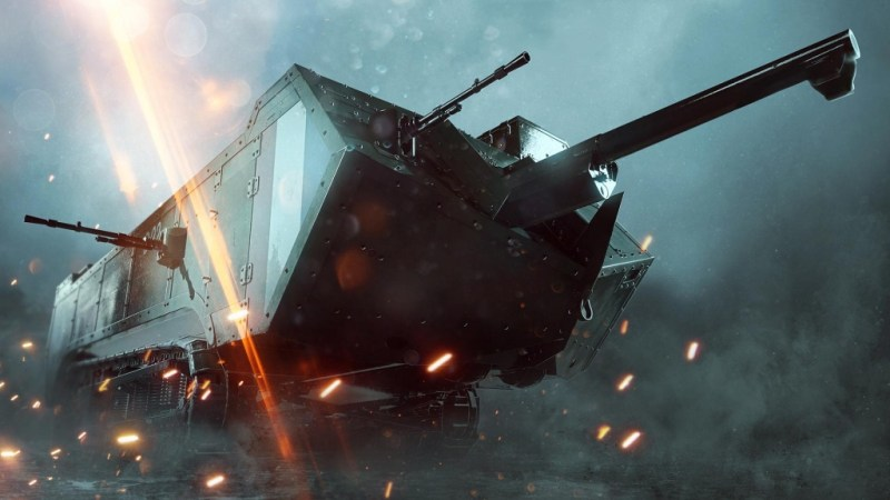 Battlefield 1 They Shall Not Pass The St. Chamond assault tank gun