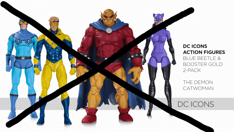 7 reasons why DC Collectibles failed with DC Icons