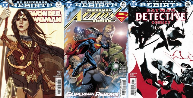 DC Comics reviews 3/8/17