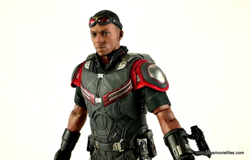 Hot Toys Captain America Civil War Falcon figure review -slight left side