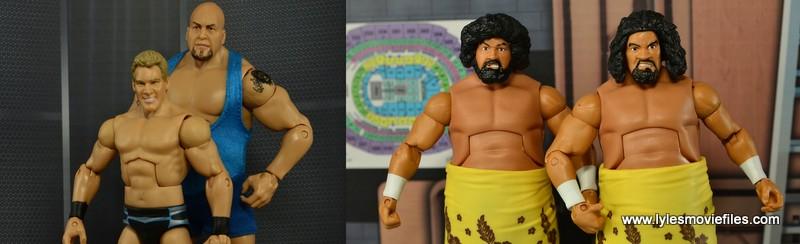 Jeri-Show vs Wild Samoans