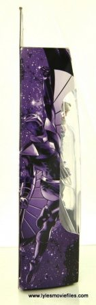 Marvel Legends Darkhawk figure review - package side