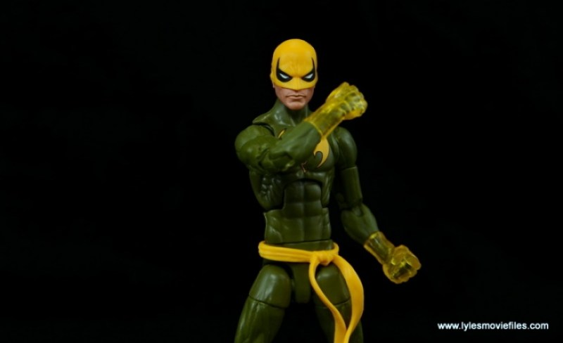 Marvel Legends Iron Fist figure review - getting fist chi up