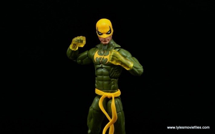Marvel Legends Iron Fist figure review - ready for battle