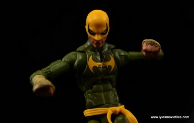 Marvel Legends Iron Fist figure review - set for a fight