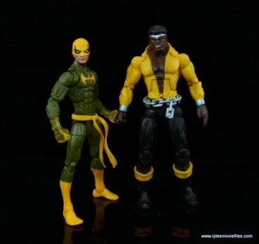 Marvel Legends Iron Fist figure review - with Power Man
