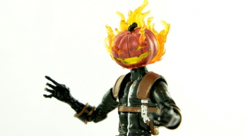 Marvel Legends Jack O'Lantern figure review - main pic