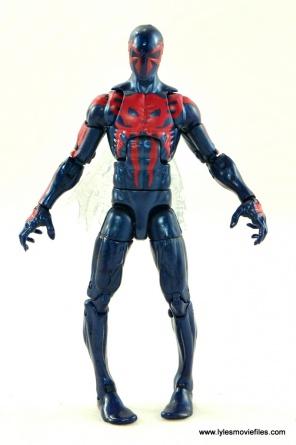 Marvel Legends Spider-Man 2099 figure review - front