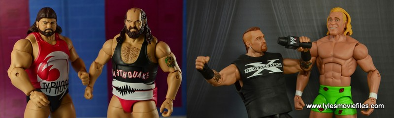 New Age Outlaws vs The Natural Disasters